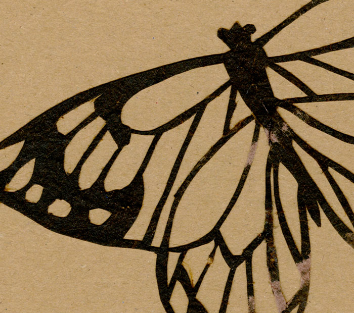 Butterflies – Upcycling to greeting cards